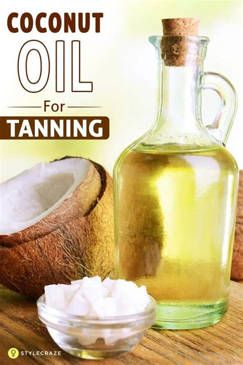 diy tanning coconut the 25 best coconut for tanning ideas on