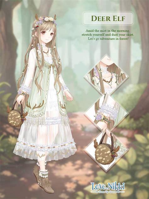 deer elf love nikki dress  queen wiki fandom
