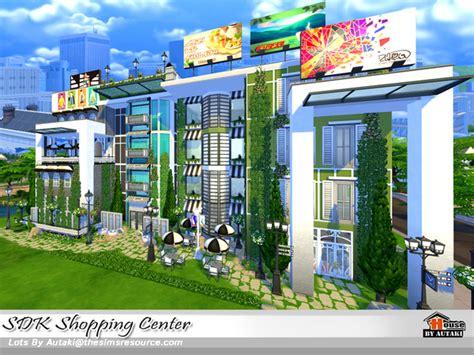 sims 4 cc shopping autaki s sdk shopping center