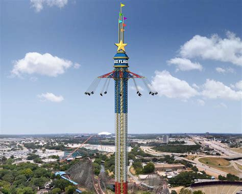 six flags swing ride star flyer ride photo gallery