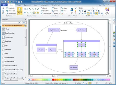 exles of layout tools uml composite structure diagram design of the diagrams
