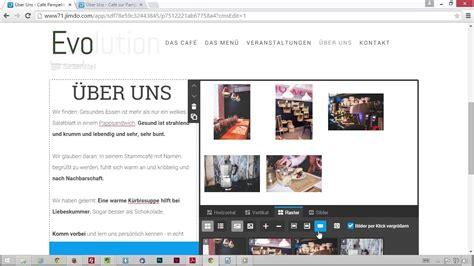 meine eigene website eine bildergalerie einrichten meine eigene website