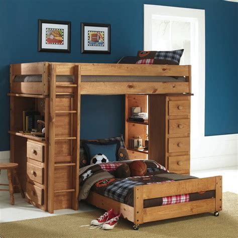 l shaped bunk bed with desk 34 and boys kid s beds bedrooms photos
