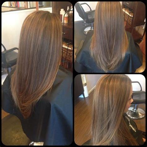 partial highlight pattern curly hair partial highlight and copper lowlight into a subtle ombre