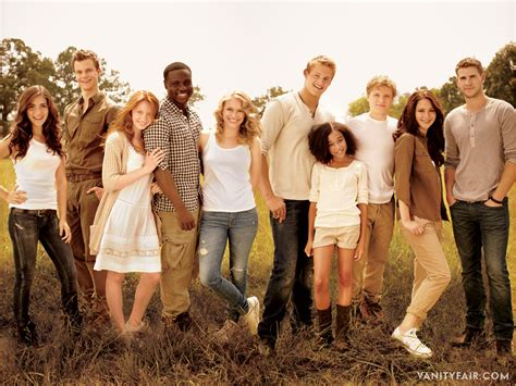 Operation Awesome New The Hunger Games Cast Photos What Cast Of The With The