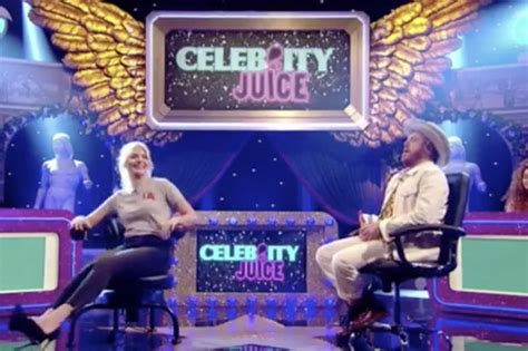 celebrity juice carrot game holly willoughby instagram upstaged by x rated gyrating