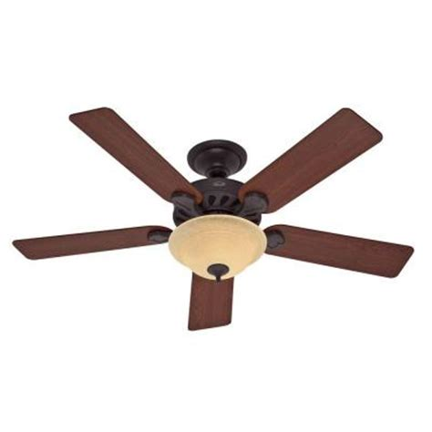 Discontinued Ceiling Fans by Five Minute 52 In Indoor New Bronze Ceiling Fan