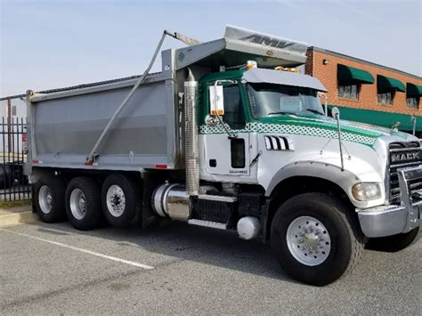 used mack trucks used 2013 mack gu713 dump truck for sale 8351