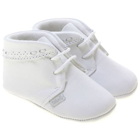 White Baby Shoes baby boys white shoes by cuquito cachet