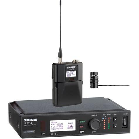 Microphone Wireless Shure Ur 4dx shure ulx d digital wireless lavalier microphone ulxd14 84 l50