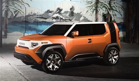 future toyota toyota ft 4x concept is a fun suv for millennials the