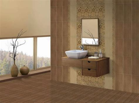 wall tiles bathroom ideas inspirasi motif desain keramik kamar mandi terbaru 2014