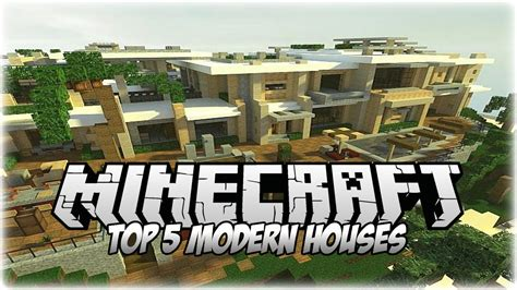 insane houses top 5 insane minecraft modern houses 2014 1 7 10 youtube