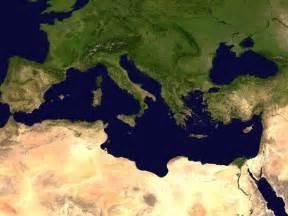 mediterranean satellite map mediterranean mappery