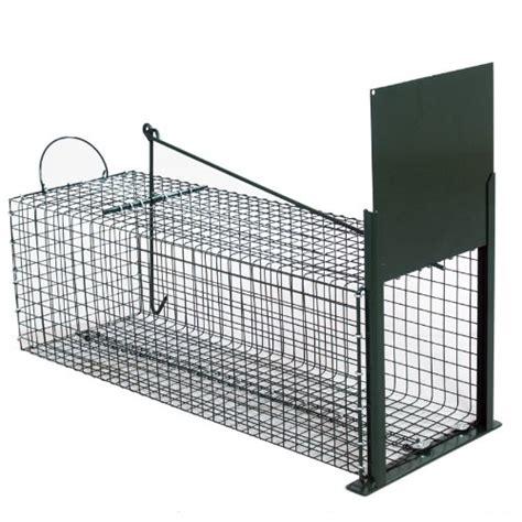 gabbia trappola per gatti trappola cattura animali vivi trappola a cassetta per