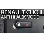 How To Enable Auto Locking Central Lock Anti Hijack