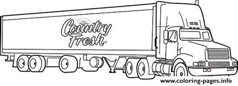 semi truck coloring pages semi truck coloring pages printable