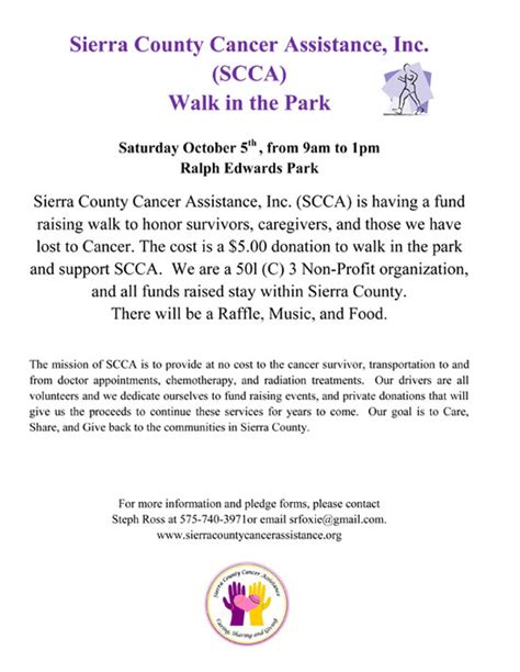 Sponsorship Letter For Fashion Show Fund Raising Events County Cancer Assistance