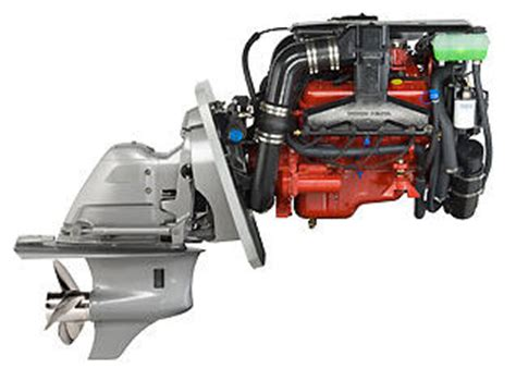 volvo penta gxi  hp inboard sterndrive  engine test reviews  specs fast
