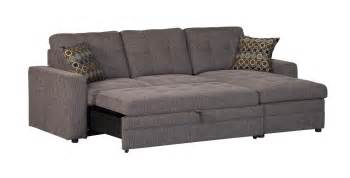 Sleeper Sofa Sectionals Coaster Company Gus Grey Small Sleeper Sectional Sofa Free Shipping