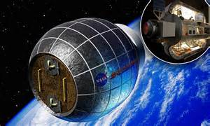 inflatable module set  give  international space station  extra bedroom
