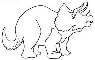 printable color sheets printable triceratops coloring pages for cool2bkids