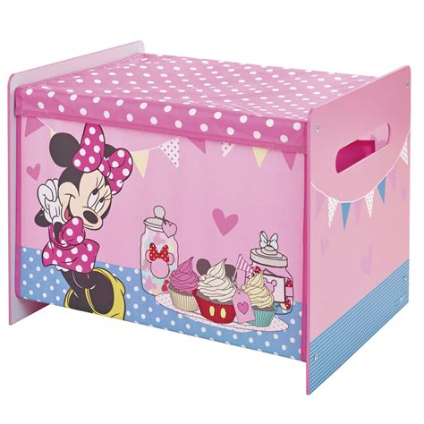 Minnie Mouse Bedroom Set In A Box Minnie Mouse Cosytime Box New Official Bedroom Storage