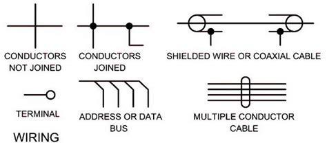 electrical wiring schematic diagram symbols wiring electrical schematic symbols names symbols