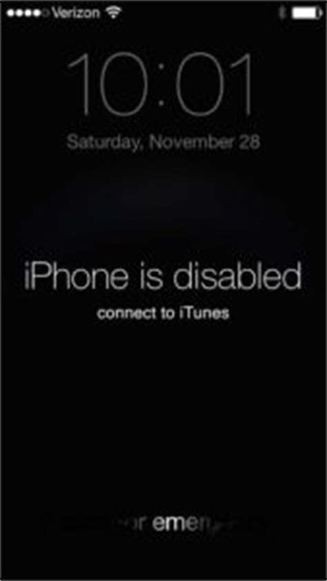 My iPhone Is Disabled. Connect To iTunes? Here's The Fix!
