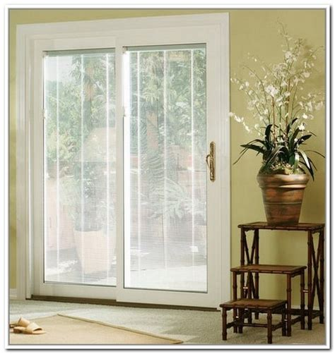 Anderson Sliding Patio Doors With Built In Blinds Images Patio Doors With Built In Blinds