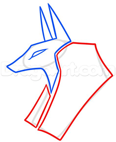 how to draw tribal tattoos step by step how to draw a tribal anubis step by step tattoos