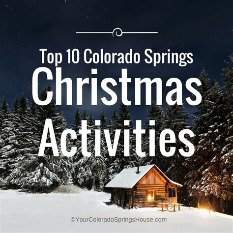 colorado springs lights tour best lights in colorado springs 2017