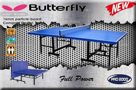 Meja Pingpong Merk Fish jual tenis meja pingpong merk butterfly harga murah