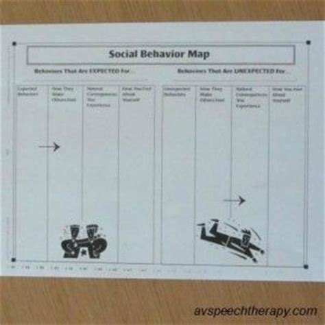 social behaviour mapping template social behavior mapping social thinking for aspergers