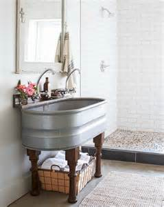 farmhouse style bathroom sink 20 best farmhouse bathrooms to get that fixer style