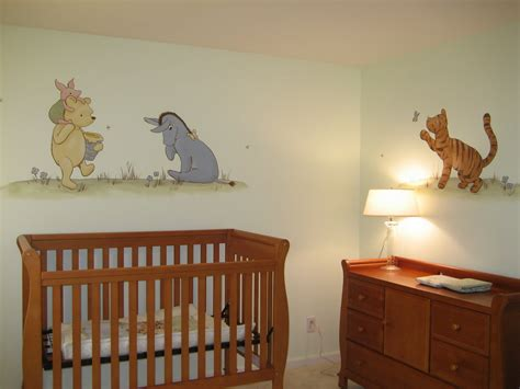 classic winnie the pooh wall decals for nursery winnie the pooh nursery i would those to the ground at baby height secret baby