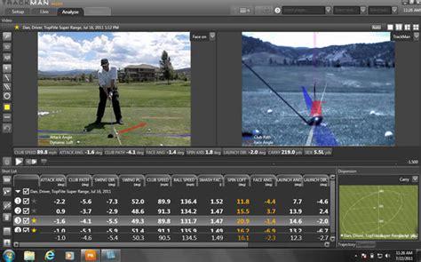 trackman swing analysis lee chapman pga golf professional trackman