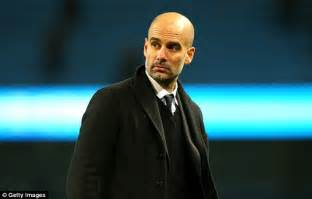 Man city owner sheik mansour very happy pep guardiola daily mail