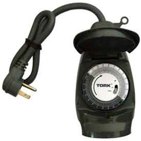 Timers Dimmers Electromechanical Timers Outdoor Electric Timers For Lights Outdoor