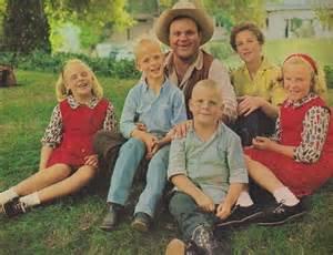 Dan blocker with his wife dolphia lee parker and children dirk blocker
