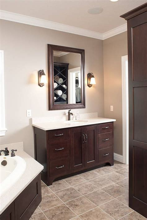 Best Color For Bathroom Cabinets by 25 Best Ideas About Wood Bathroom On