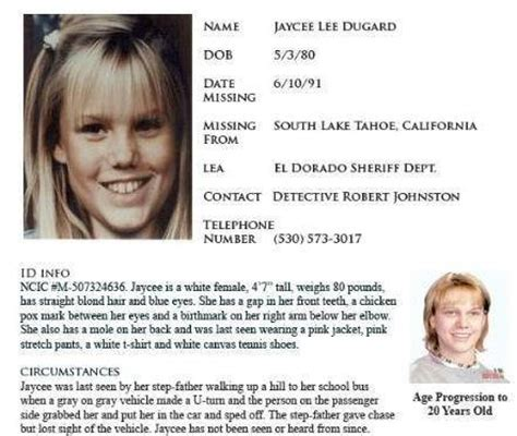 kidnapped girl found in backyard kidnapped girl found years later jaycee dugard who was