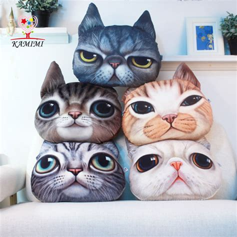 cat pillow bed kamimi 2017 new fashion cartoon baby pillow bed decorative