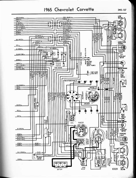 57 65 Chevy Wiring Diagrams