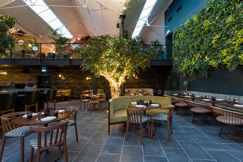 Kitchen Designer London by Greenery Filled Restaurant Ours Opens In London S