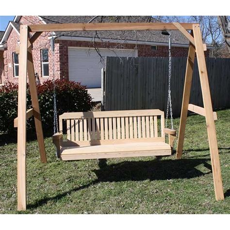 tmp outdoor furniture traditional cedar wood swing sets