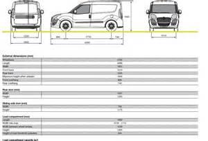 Fiat Doblo Dimensions Fiat Doblo Cargo Dimensions