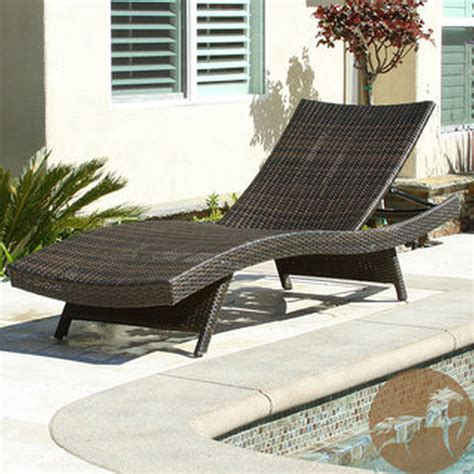 wicker outdoor chaise wicker outdoor chaise lounge furniture chairs seating