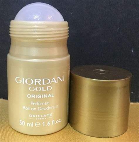 Giordani Gold Original Roll On Deodorant oriflame giordani gold perfume and roll on deo review trends and health