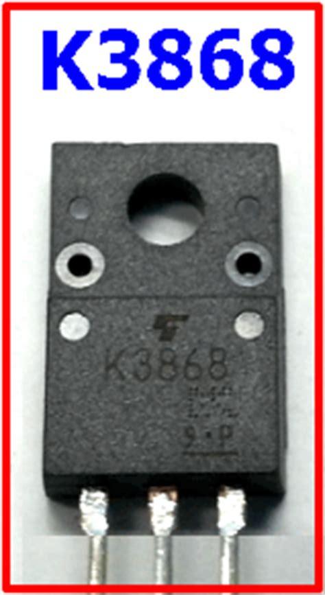 transistor mosfet k3868 transistor mosfet k3868 22 images 2sk2601 original pulled toshiba mosfet k2601 ebay